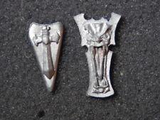 Warhammer Fantasy Battle 1987 Metal Shields Lot #1 Rare Vintage OOP Oldhammer GW