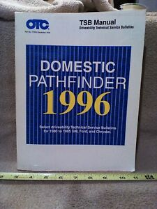 OTC 1996 Domestic Pathfinder TSB Manual for GM Ford Chrysler Manual