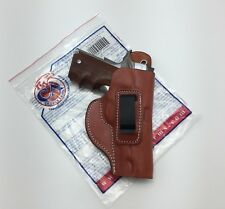 "Cebeci IWB Brown Leather Holster w/ Comfort Tab for 1911 4"" - 4.5"" BBL, Right RH"