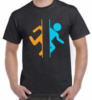 Portal Valve Video Game Gaming Top Tee Inspired Unisex T Shirt