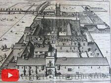 Scotland U.K. c.1720's van der Aa old engraved view prints lot x 10 images