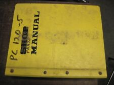 OEM KOMATSU PC120-5 PARTS Catalog Manual Book