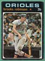 1971 Topps Brooks Robinson EX+ Baltimore Orioles #300
