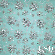 Frozen Photography Backdrop Winter Background Holiday Photo Props Silver Blue