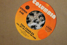 Tina Charles ‎ You Set My Heart On Fire  45 rpm VG+