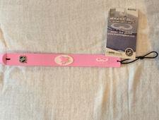 San Jose Sharks Logo NHL Hockey Puck Rubber Pink Bracelet