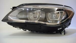 13 14 15 BMW 7 SERIES F01 F02 LCI FULL LED DYNAMIC HEADLIGHT LEFT COMPLETE MINT