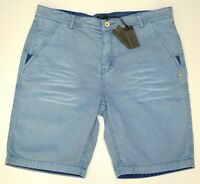 NWT $69 Buffalo David Bitton Blue Casual Shorts Mens Size 33 34 36 38 Hassa NEW