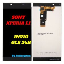 DISPLAY LCD+TOUCH SCREEN SONY per XPERIA L1 G3311 G3312 G3313 NERO VETRO
