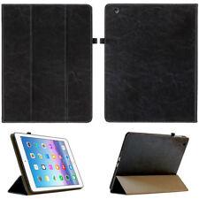 Cuero cover Apple para iPad Air 1 (1.gen) cubierta protectora bolso Tablet Case negro