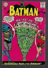 DC comics Batman 1st Riddler  Silver 4.5 VG+  1st print 1965