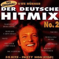 Der Deutsche Hit Mix (1996, Uwe Hübner) 2:Marianne Rosenberg, Howard Carp.. [CD]