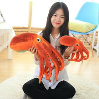 Octopus Plush Toy Pillow Seat Cushion Backrest stuffed for children gift 30CM B
