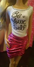 """Barbie doll  """"Be Yourself""""  Dress ~ Clothing New"""