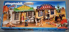 PLAYMOBIL 4398 Mitnehm Western City Koffer Neu-ovp