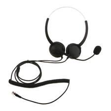 VH530D Hands-free Call Center Customer Service Telephone Headset w/ Micphone