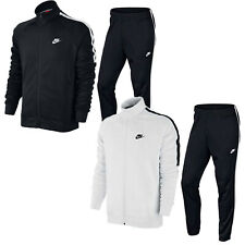 Men's Nike Tribute Polyester Full Tracksuit Set Full Zip Top Jogging Bottoms