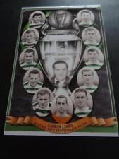 CELTIC FC 1967 EUROPEAN CUP FINAL LISBON LIONS JOCK STEIN JIMMY JOHNSTONE