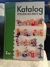 Kinder Egg Toy Figure Collector 2000-01 Katalog 392 Pages, New