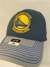 2cb5f86e8 Golden State Warriors Cap adidas Stretch Fit Fitted Gray Two Tone Hat NBA  S m