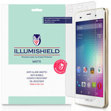 3x iLlumiShield Matte Anti-Glare Screen Protector for Blu Dash M2