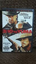 Dvd 3:10 To Yuma with Russell Crowe and Christian Bale. Full screen edition