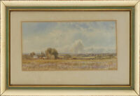 Attrib. Henry Pilleau RI - Late 19th Century Watercolour, Sunny Countryside