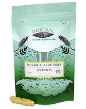 Aloe Vera Veggie Capsules | Organic Certified | 450mg Capsules