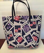 NWT Kate Spade Bon Shopper Turn Over a New Leaf Seed Tote Bag MSRP $148