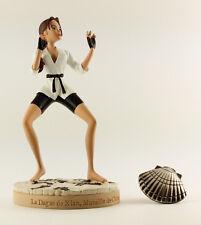 Figurine / Statue TOMB RAIDER LARA CROFT LA DAGUE DE XIAN MURAILLE DE CHINE
