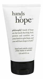 PHILOSOPHY HANDS OF HOPE HAND AND CUTICLE CREAM 4.0 OZ-NEW