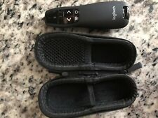 Logitech R400 Wireless Laser Pointer Presenter with Zipper Carry Pouch Black