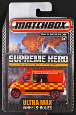 2015 Matchbox Supreme Hero Renault® Master Ambulance RED/MOC