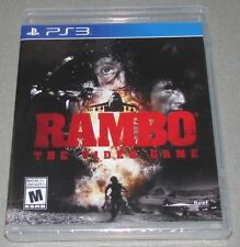 Rambo: The Video Game for Playstation 3 PS3 Brand New! Factory Sealed!