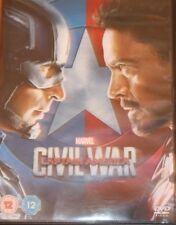 Marvel - Captain America - Civil War DVD - UK Region 2 - Read Description