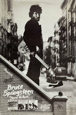 The Boss: Bruce Springsteen * Born To Run * Columbia Records Promo Poster 1975