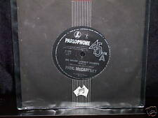 "PAUL McCARTNEY NO MORE LONELY NIGHTS - AUSTRALIAN 7 "" 45 VINYL RECORD"