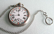 Ura Relógio Bolso Sinum Custodibus Antique Pocket Watch Pocket Watch Žepna