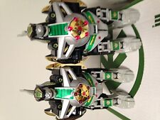 MIGHTY MORPHIN POWER RANGERS (2) DRAGONZORDS, TIGERZORD, FALCONZORD, + FIGURES