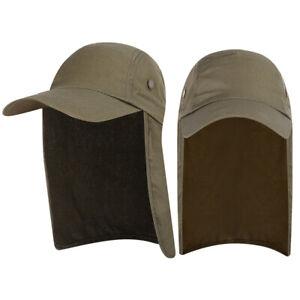 NEW Fishing Hat Boonie Hat Sun Visor Cap UV Sun Protection Ear Neck Flap Cover
