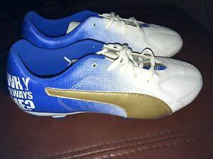 New Youth Puma MB9 Junior Mario Balotelli Mohawk Soccer Cleats Size 6