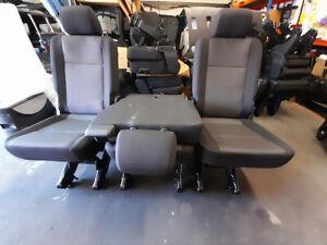 Genuine Vw Transporter T6.1 Brand New Rear 1+1+1  Kombi Seats  Brick Trim Isofix