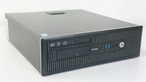 HP ProDesk 600 G1 SFF i5 4590 3.3GHz 4GB RAM 500GB HDD DVDRW WIN 10 PRO