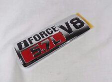 TOYOTA TUNDRA iFORCE 5.7L V8 EMBLEM RH 07-13 NEW OEM FRONT FENDER BADGE symbol