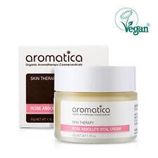 AROMATICA Rose Absolute Vital Cream dry & rough skin Vegan Korea K-BEAUTY