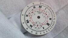 Movado Vizio dial 31.6mm diameter white/black/red, date at 4 o'clock