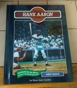 1992 Chelsea House Baseball Legends hardcover book Hank Aaron