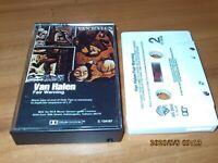 Fair Warning By Van Halen (Cassette, 1981, Warner Bros)  W5 3540
