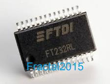 1PCS Ft232 FT232RL-REEL SSOP28 FTDI  Interface Bridges, USB to UART