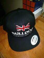 BULLDOG LONDON DRY GIN Snapback Black Green One Size Fits All Yupoong